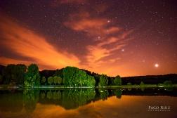 Lagunas de Ruidera nocturna